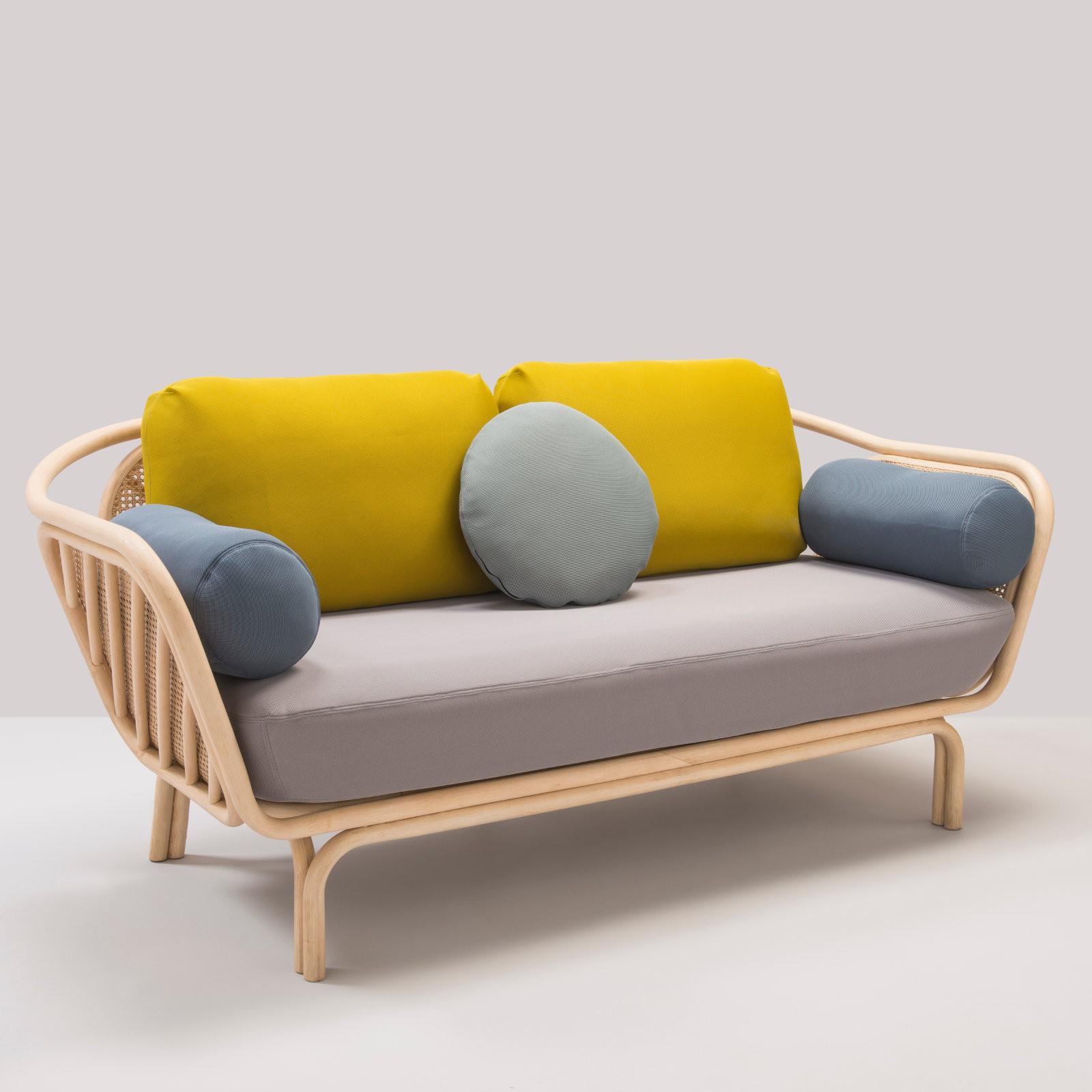 High Tech BÔa Design Rattan Sofa Loading Zoom