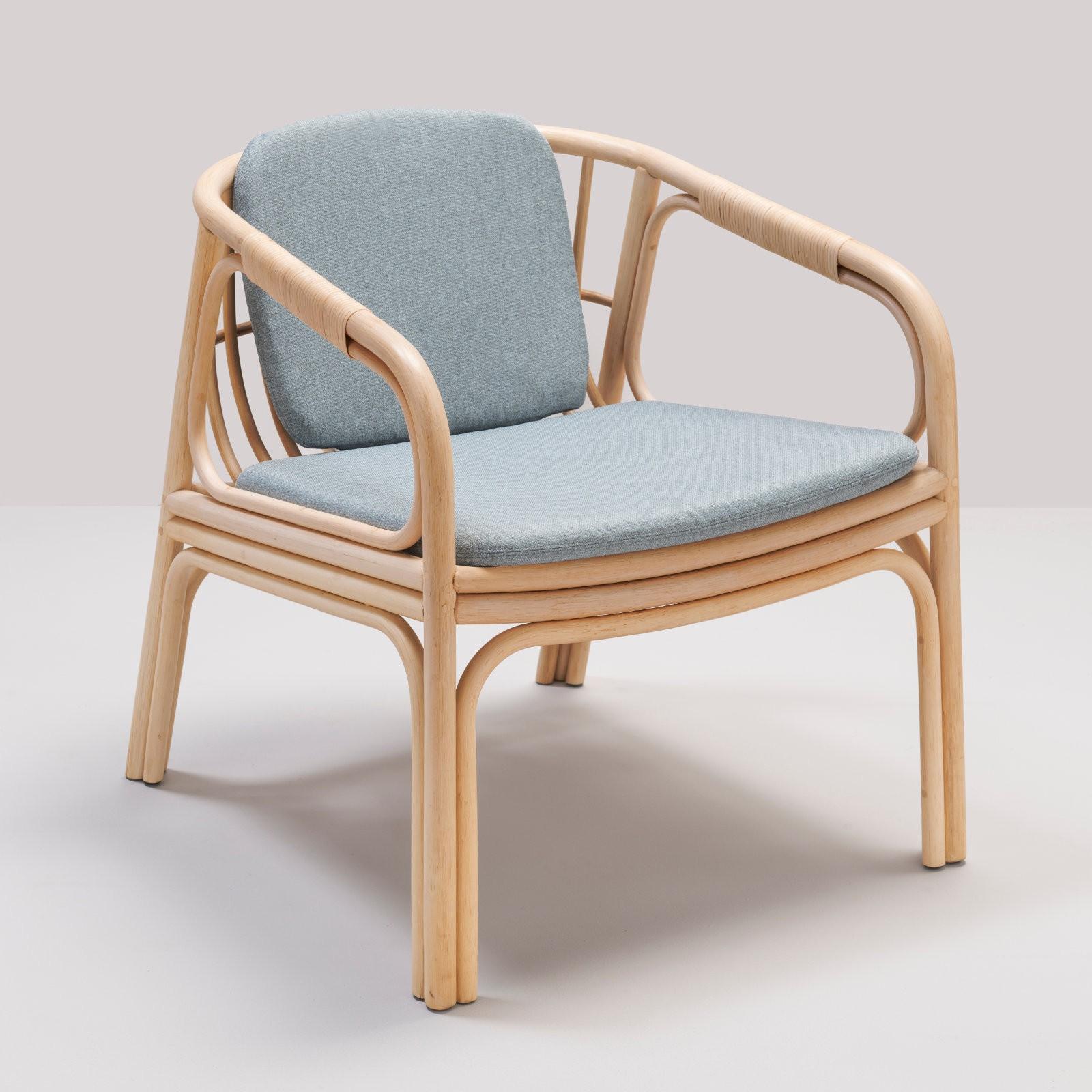 Hublot Rattan Armchair Designed By Guillaume Delvigne