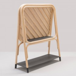 PANÔ design rattan shelf