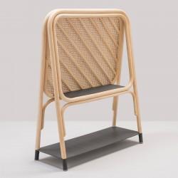 PANÔ design rattan shelf