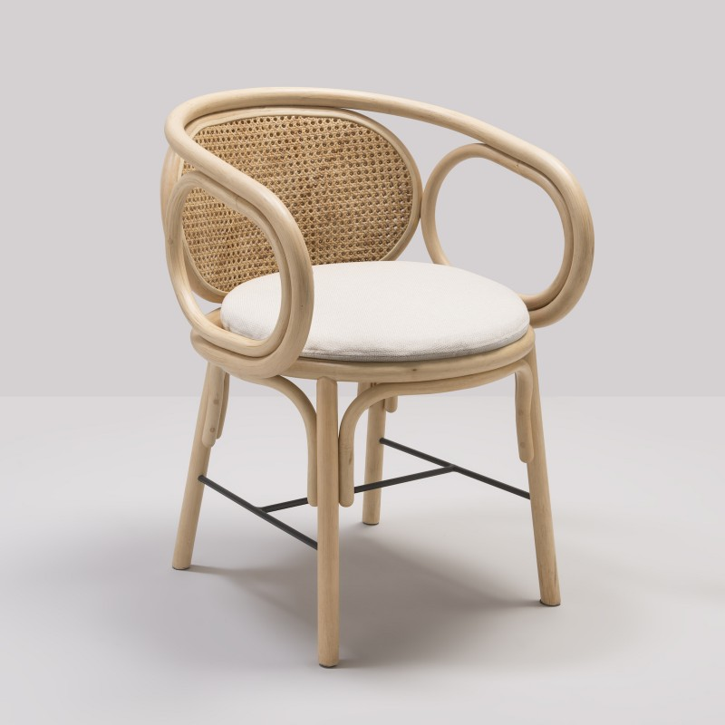 CONTOUR table armchair by AC/AL studio for Orchid Edition