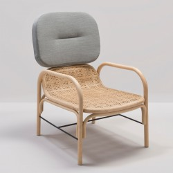 PLUS rattan armchair