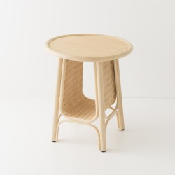 CORRIDOR design rattan side table