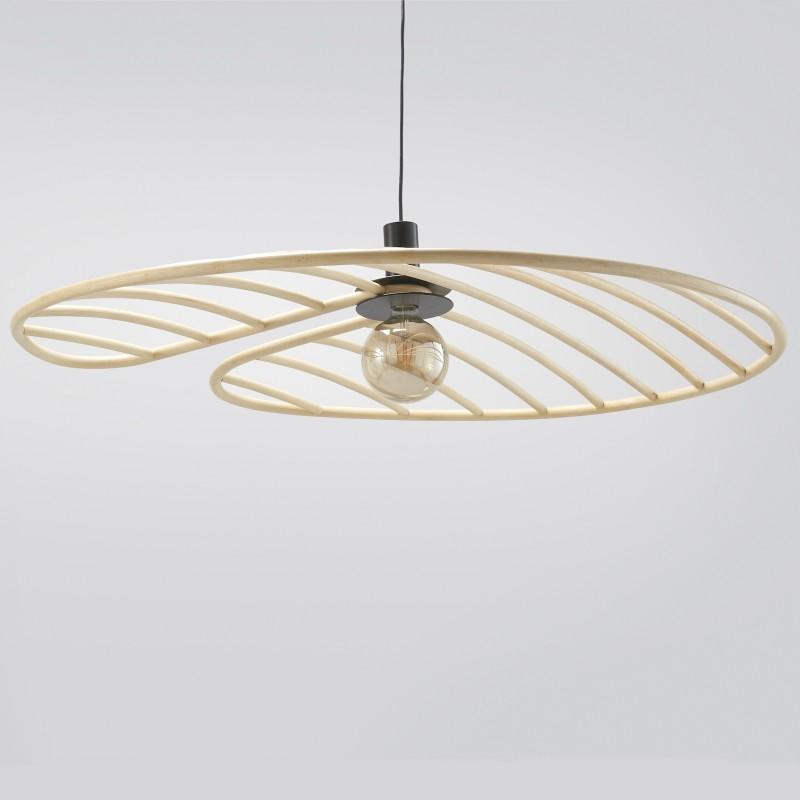 NYMPHEA large design rattan lampshade