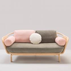 Canapé en rotin BÔA version calme