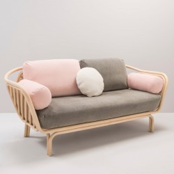 BÔA rattan design sofa calm version