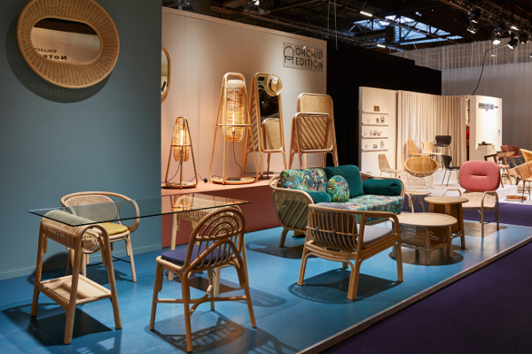 Orchid Edition booth at Maison&Objet Paris